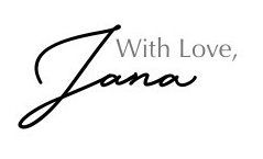with love, Jana